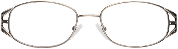 PRESCRIPTION-GLASSES-MODEL-VP204-ANTIQUE PEWTER-FRONT