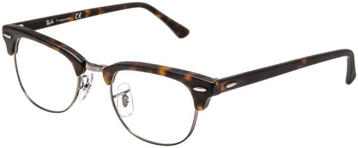 RAY-BAN-PRESCRIPTION-GLASSES-MODEL-CLUBMASTER-RB5154-5211-45
