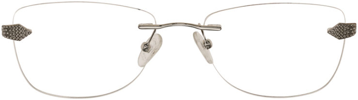 PRESCRIPTION-GLASSES-MODEL-A372-SILVER-BLACK-FRONT