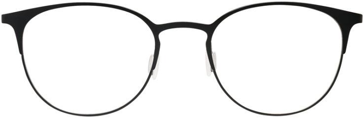 PRESCRIPTION-GLASSES-MODEL-DC-143-BLACK-FRONT