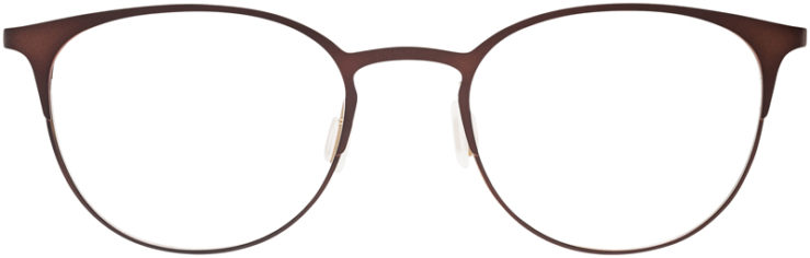 PRESCRIPTION-GLASSES-MODEL-DC-143-BROWN-FRONT