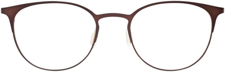 PRESCRIPTION-GLASSES-MODEL-DC-143-BROWN-FRONT