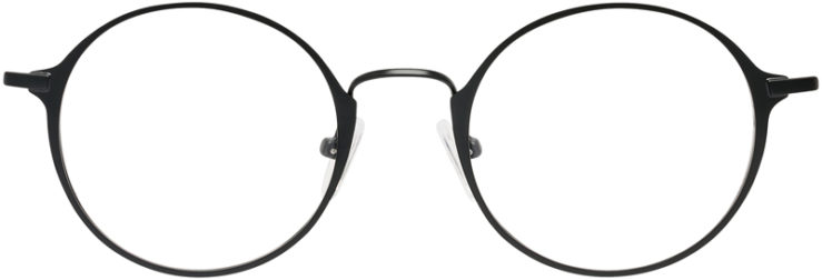 PRESCRIPTION-GLASSES-MODEL-FX-109-BLACK-FRONT