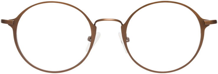 PRESCRIPTION-GLASSES-MODEL-FX-109-BROWN-FRONT