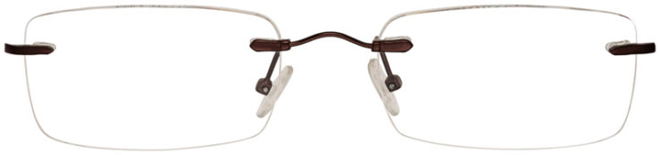 PRESCRIPTION-GLASSES-MODEL-MX929-MATTE-BROWN-FRONT