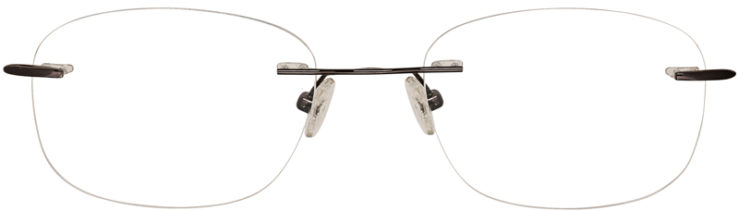 PRESCRIPTION-GLASSES-MODEL-U729-GUNMETAL-FRONT