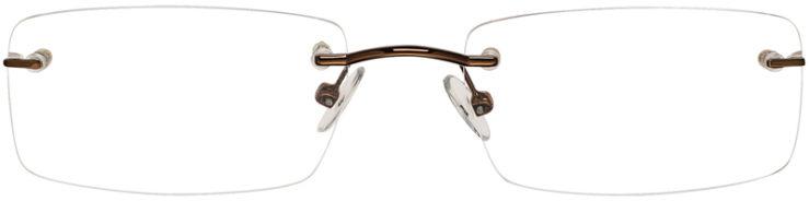 PRESCRIPTION-GLASSES-MODEL-VP119-BROWN-FRONT