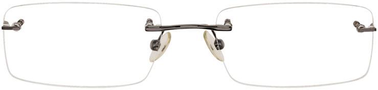 PRESCRIPTION-GLASSES-MODEL-VP119-GUNMETAL-FRONT