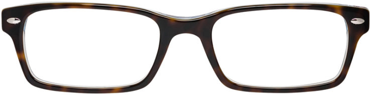 RAY-BAN-PRESCRIPTION-GLASSES-MODEL-RB5206-5023-FRONT