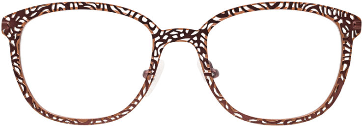 PRESCRIPTION-GLASSES-MODEL-ART-417-BROWN-FRONT