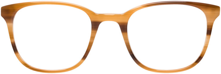 PRESCRIPTION-GLASSES-MODEL-DC-159-BROWN-DEMI-FRONT