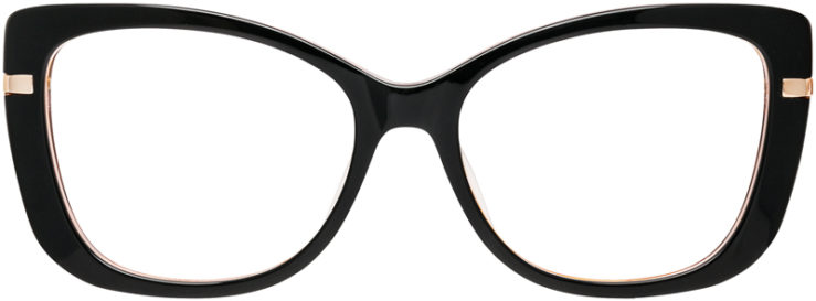 PRESCRIPTION-GLASSES-MODEL-DC-162-BLACK-FRONT