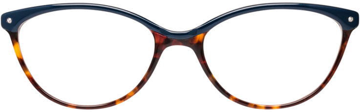 PRESCRIPTION-GLASSES-MODEL-DC-166-BLUE-DEMI-FRONT