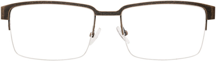 PRESCRIPTION-GLASSES-MODEL-GR-809-ANTIQUE-BROWN-FRONT