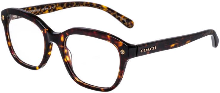PRESCRIPTION-GLASSES-MODEL-COACH-HC-6094-DARK-TORT_DARK-TORT-GOLD-SIG-C-45