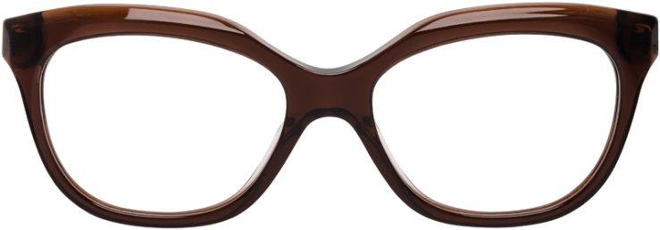 PRESCRIPTION-GLASSES-MODEL-COACH-HC6096-DARK-BROWN-FRONT