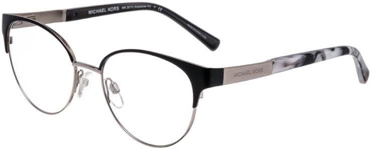 PRESCRIPTION-GLASSES-MODEL-MICHAEL-KORS-MK-3010-ADELAIDE-IV-MATTE-BLACK-SILVER-45