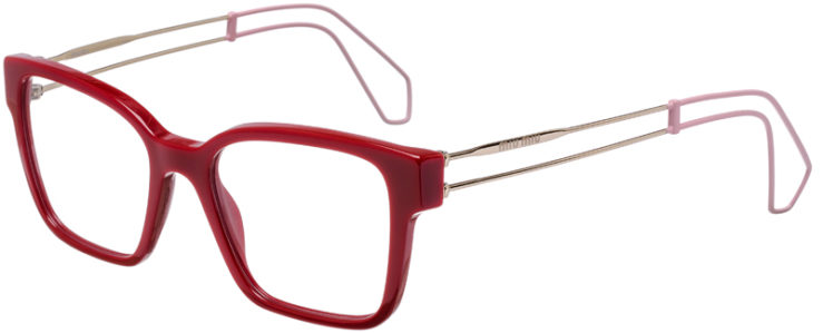 PRESCRIPTION-GLASSES-MODEL-MIU-MIU-VMU-02P-RED-45