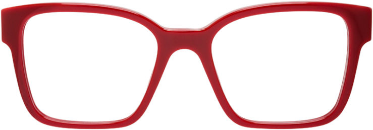 PRESCRIPTION-GLASSES-MODEL-MIU-MIU-VMU-02P-RED-FRONT
