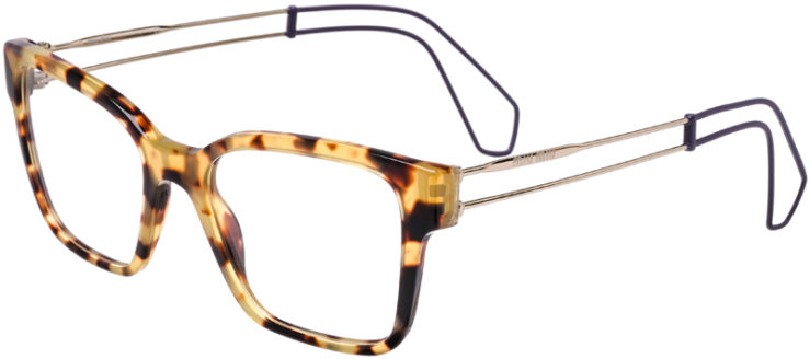 PRESCRIPTION-GLASSES-MODEL-MIU-MIU-VMU-02P-TORTOISE-45