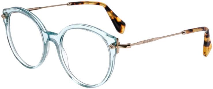 PRESCRIPTION-GLASSES-MODEL-MIU-MIU-VMU-04P-AQUA-45