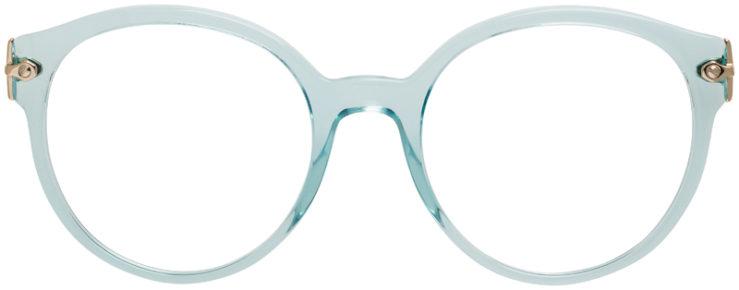 PRESCRIPTION-GLASSES-MODEL-MIU-MIU-VMU-04P-AQUA-FRONT