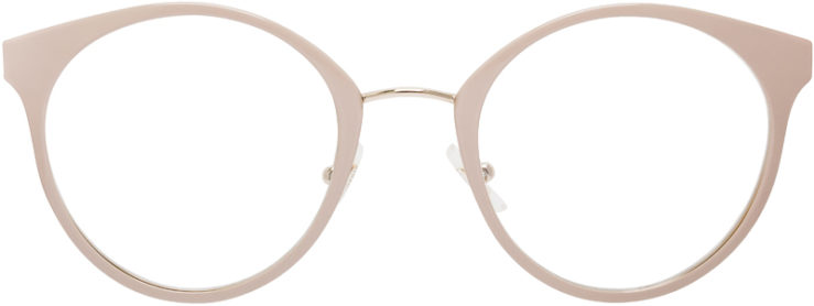 PRESCRIPTION-GLASSES-MODEL-MIU-MIU-VMU-51P-BEIGE-FRONT