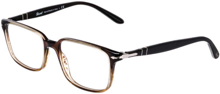 PRESCRIPTION-GLASSES-MODEL-PERSOL-3013-V-BROWN-GRADIENT-45