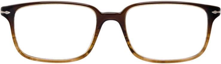 PRESCRIPTION-GLASSES-MODEL-PERSOL-3013-V-BROWN-GRADIENT-FRONT