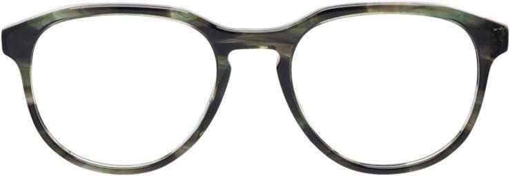 PRESCRIPTION-GLASSES-MODEL-PRADA-JOURNAL-VPR-18S-GREEN-TORTOISE-FRONT
