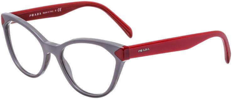 PRESCRIPTION-GLASSES-MODEL-PRADA-VPR-02T-GREY-RED-45