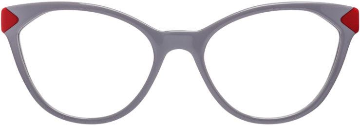PRESCRIPTION-GLASSES-MODEL-PRADA-VPR-02T-GREY-RED-FRONT