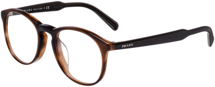 PRESCRIPTION-GLASSES-MODEL-PRADA-VPR-19S-F-BROWN-TORTOISE-45