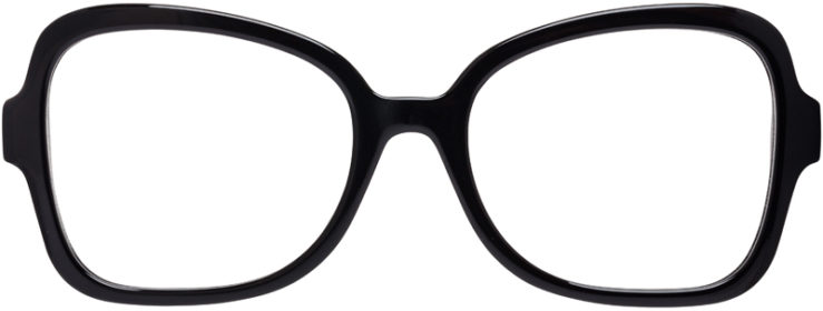 PRESCRIPTION-GLASSES-MODEL-PRADA-VPR-25S-BLACK–FRONT