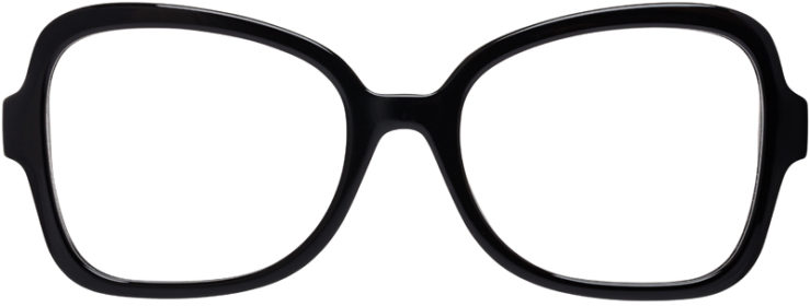 PRESCRIPTION-GLASSES-MODEL-PRADA-VPR-25S-F-BLACK–FRONT