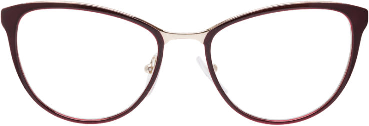 PRESCRIPTION-GLASSES-MODEL-PRADA-VPR-55T-BURGUNDY-FRONT