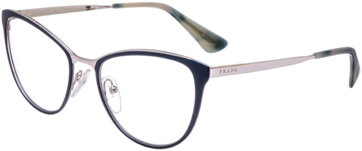 PRESCRIPTION-GLASSES-MODEL-PRADA-VPR-55T-MATTE-BLUE-45