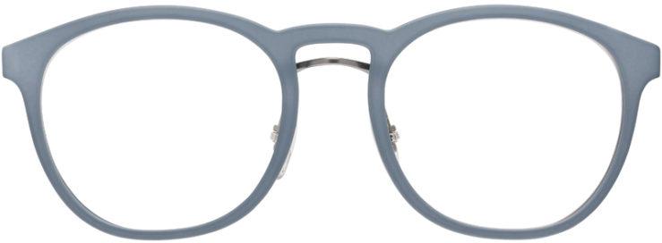 PRESCRIPTION-GLASSES-MODEL-PRADA-VPS-05H-MATTE-BLUE-FRONT