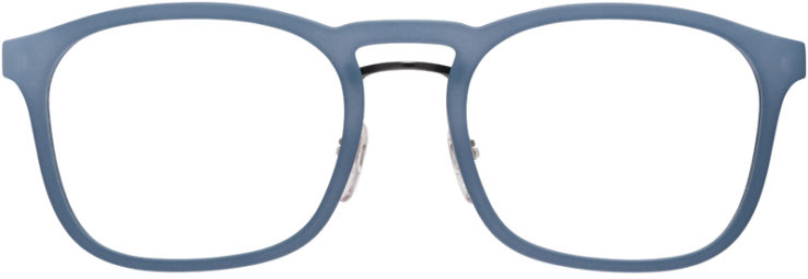 PRESCRIPTION-GLASSES-MODEL-PRADA-VPS-06H-MATTE-BLUE-FRONT