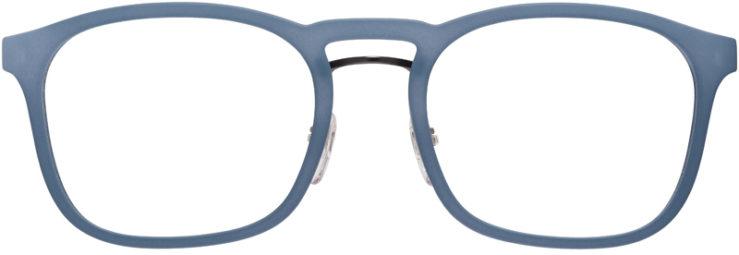 PRESCRIPTION-GLASSES-MODEL-PRADA-VPS-06H-MATTE-BLUE-FRONT