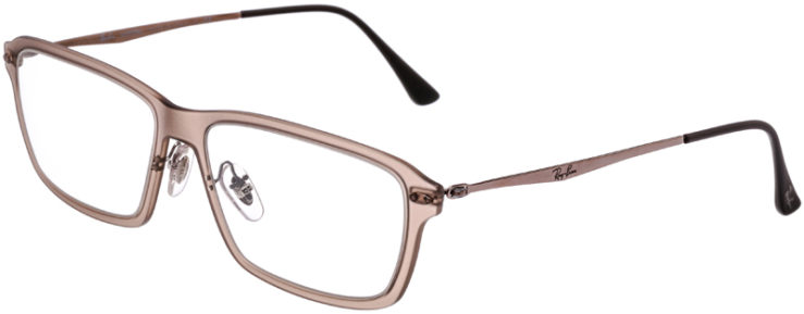 PRESCRIPTION-GLASSES-MODEL-RAY-BAN-LIGHTRAY-RB-7038-CLEAR-BEIGE-45