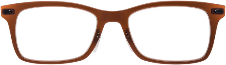 PRESCRIPTION-GLASSES-MODEL-RAY-BAN-LIGHTRAY-RB-7039-BROWN-FRONT