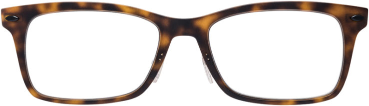 PRESCRIPTION-GLASSES-MODEL-RAY-BAN-LIGHTRAY-RB-7039-MATTE-TORTOISE-FRONT