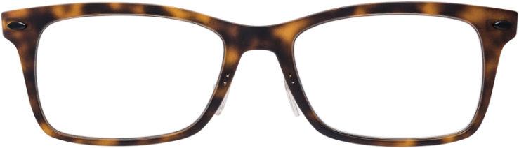 PRESCRIPTION-GLASSES-MODEL-RAY-BAN-LIGHTRAY-RB-7039-MATTE-TORTOISE-FRONT