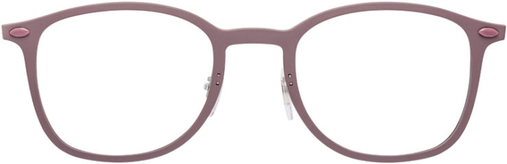 PRESCRIPTION-GLASSES-MODEL-RAY-BAN-LIGHTRAY-RB-7051-MATTE-ROSE-FRONT