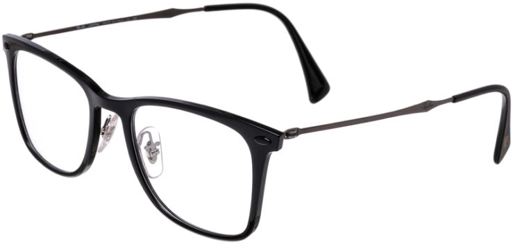 PRESCRIPTION-GLASSES-MODEL-RAY-BAN-LIGHTRAY-RB-7086-BLACK-45
