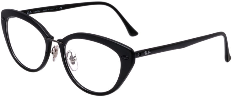PRESCRIPTION-GLASSES-MODEL-RAY-BAN-LIGHTRAY-RB-7088-MATTE-BLACK-45