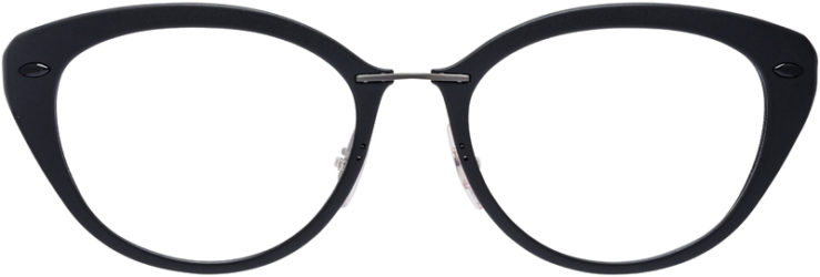 PRESCRIPTION-GLASSES-MODEL-RAY-BAN-LIGHTRAY-RB-7088-MATTE-BLACK-FRONT