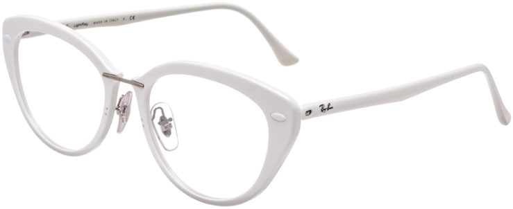 PRESCRIPTION-GLASSES-MODEL-RAY-BAN-LIGHTRAY-RB-7088-WHITE-45
