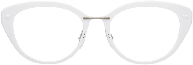 PRESCRIPTION-GLASSES-MODEL-RAY-BAN-LIGHTRAY-RB-7088-WHITE-FRONT